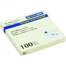 Листочки для записей с клейким слоем 76х76 ВМ 2312-01 пастель