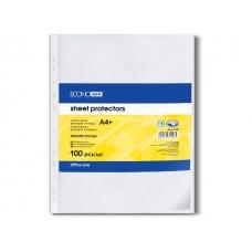 Файлы для бумаги А4 Economix 30мкм Е31106